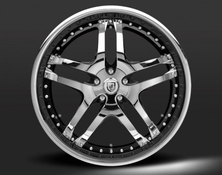 LF-701 OPTIONAL CHROME OUTER, CHROME INNER, CHROME AND BLACK CENTER WITH OPTIONAL FDL INSERTS 2